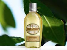 NEW L'Occitane Almond Shower Oil 250ml Enrich Hydrate Nourish Perfume *Free Post