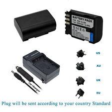 2 Battery +Charger for PENTAX 645D, 645Z, K-01 K-3, K-5, K-5 II, K-5 IIs, K-7
