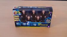 Character Building Doctor Who-SILENT Esercito BUILDER Multi Pack-Nuovo di Zecca