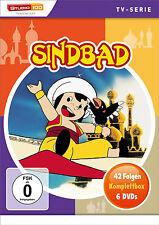 gesamtbox Sindbad COMPLETO SERIE DE TV 42 Episodios 6 Caja de DVD Edition NUEVO