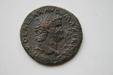 Antica ROMA NERO come monete 1st CENTESIMO AD 12 Cesari