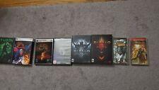 PC game Lot Diablo3, Resident Evil 5,6 Devil May Cry 4 psp games etc. US