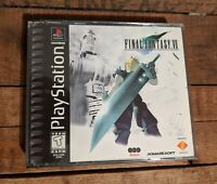 VINTAGE PS1 FINAL FANTASY VII VIDEO GAME SONY PLAYSTATION 1 TESTED COMPLETE CIB