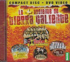 Beto Y Sus Canarios Yussele Lo Mas Ardiente De Tierra Caliente CD+DVD New Sealed