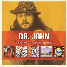 Dr John ORIGINAL ALBUM SERIES Gris-Gris IN THE RIGHT PLACE Gumbo NEW SEALED 5 CD