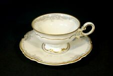 Beautiful Lorelei Loreley Hutschenreuther Gold Trim Footed Coffee Cup And Saucer