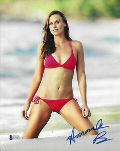 Amanda Beard Signed 8X10 Photo Autographed BAS COA Olympic Gold Medal Beckett