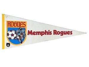 "Vintage Memphis Rogues NASL Soccer Football Full Size 30"" Pennant Flag Decor"