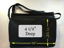 Dell 5100MP or other Padded Projector carry case, zipper top and front pouch