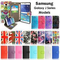 Case Cover For Samsung Galaxy J3 J5 J7 2016 2017 Flip Leather Wallet Card Holder