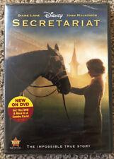 Secretariat (DVD, 2010) Diane Lane, John Malkovich - Brand New!!!
