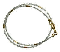 Labradorit Wickel-Armband Armkette Z329