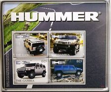Gambie 2007 KLB 5944-47 bloc 766 homard automobile h2 Cars voitures MNH