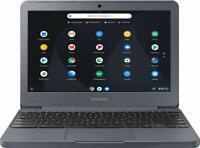 "Samsung Chromebook 11.6"" HD Intel Celeron 4/32GB eMMC Chrome OS Laptop- Charcoal"