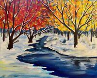 Winter Dreams, Landscape Painting