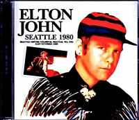 ELTON JOHN LIVE AT SEATTLE CENTER COLISEUM WA USA 1980 FUNERAL FOR A FRIEND