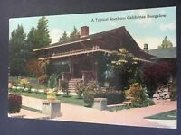Postcard Typical Southern California Bungalow.   Blank.  Pg10