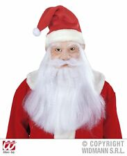 Widmann - Maschera Babbo Natale per Adulti Bianco Taglia unica Vd-wdm1532s