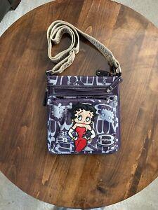 Betty Boop Handbag in Purple