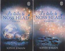 LES ETOILES DE CROSS HEAD tomes 1 et 2 Sophie Jomain  livre roman jeunesse