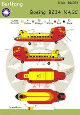 Bestfong Decal 1/144 Boeing B234 (CH-47) Chinook in NASC R.O.C. (Taiwan)