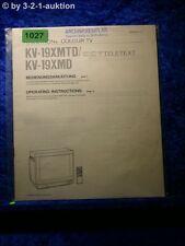 Sony Bedienungsanleitung KV 19XMTD / 19XMD (#1027)