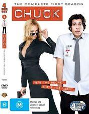 Chuck : Season 1 [ 4 DVD Set], Region 4, Like New, Fast Post...6414