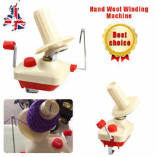 Swift Yarn Fiber String Ball Wool Winder Holder Hand Operated WINDING Machine UK