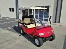 New 2020 Red Evolution EV Golf Cart Car Classic 4 Passenger seat 48v WARRANTY