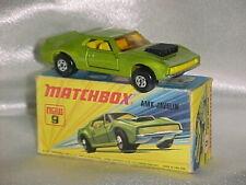 1972 MATCHBOX AMX JAVELIN #9 WITH BOX
