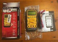 UEi Test Instruments Auto Ranging CAT-3 TRMS Digital MultiMate, 1000V (DM393)