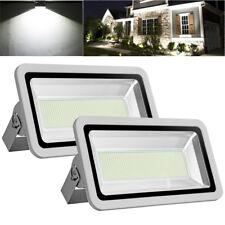 2X 500W LED Flood Light Cool White Outdoor Lighting Garden Lamp Spotlight AC110V