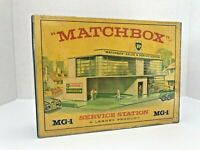 Matchbox Lesney Product empty box reproduction / MG-1 SERVICE STATION BP