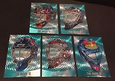 2002-03 ITG Between The Pipes LOT of 5 THE MASK II Foil DUFEX Cards NO DUPS!!