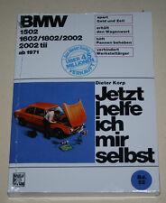 Reparaturanleitung BMW 1502 1602 1802 2002 mit tii, E10 / E114 ab 1971