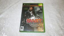 XBOX SWAT Global Strike Team jeu vidéo Français complet en boite