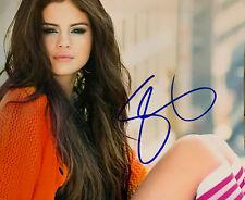 """Selena Gomez Autographed 8""""x10"""" Color Photograph"""