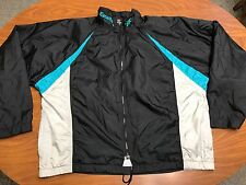 MENS VTG LIGHTLY WORN ASICS EXCELTECH FULL ZIP COLOR BLOCK WINDBREAKER JACKET XL