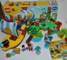 JAKE and the NEVER LAND PIRATES Lego DUPLO #10513 & 10514 Pirate Ship, Island