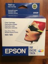 Genuine Epson T027 201 Color Ink Cartridge for Stylus Photo 820/925