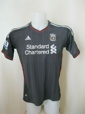 5+/5 Womens FC Liverpool 2011/2012 Away Sz M Adidas shirt jersey maillot ladies