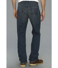 $198 Seven 7 For All Mankind Men's Carsen Easy Straight Leg Vintg Dark Jeans 34