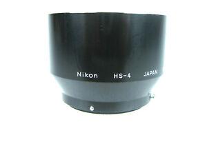 Nikon HS-4 Metal (Snap-On) Lens Hood for105mm f/ 2.5, f/ 4 & 135mm f/ 3.5 Lenses