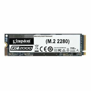BRAND NEW - Kingston KC2000 250GB M.2 2280 NVME Solid State Drive SKC2000M8/250G