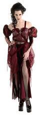 Cruella CRUELZELLA Costume Unhappily Ever After Red Dress Adult Medium 10 12