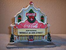"Hawthorne Village Coca-Cola Holiday Village Collection ""Coca-Cola Theater"""