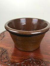 "Antique Salt Glazed Stoneware Bowl 11.5 cm /4.5"" tall"