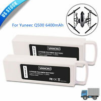 2 Pack 11.1V Li-ion For Yuneec Typhoon Q500 4k Battery Q500+ Drone Quadcopter US