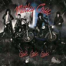 Girls Girls Girls - Motley Crue  180gm Vinyl (Vinyl Used Very Good) 180gm Vinyl