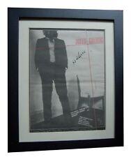 JOHNNY THUNDERS+So Alone+POSTER+AD+RARE ORIGINAL 1978+FRAMED+EXPRESS+GLOBAL SHIP